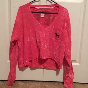 Pink long sleeve jersey